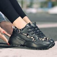 New Womens Lace Up Jogging Running Shoes Athletic Walking Tennis Sneakers Size