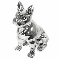 Large 31cm Sitting French Bulldog Ornament Figurine Statue Cute Dog Lovers Gift