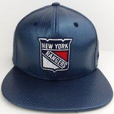 New York Rangers NHL Strap-back/hat/cap/imitation Snake Skin