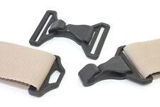 Karabinerhaken Kunststoff mit D-Ring (Gegenstück) für Bandbreite 50mm, 5 Stück