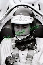 1967 Indy car racing Photo negative driver Jim Clark