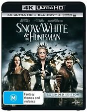 SNOW WHITE AND THE HUNTSMAN 4K UHD BLU-RAY / BRAND NEW 2 DISC AUS BLURAY
