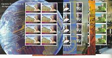 ASCENSION ISLAND MNH STAMP SHEETS 2008 LONGEST REIGNING MONARCHS SG 1024-1028