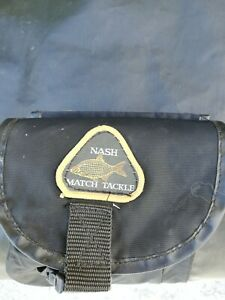 Nash Match Tackle Black Fishing Rod Holdall 6ft Takes 6 Rod's.Used Condition.