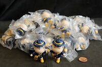 "Lot of Asian School Children in Blue & Yellow School Uniform - 2"" Figurine Kids"