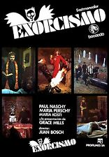 (PRESS BOOK BROCHURE ORIGINAL) 1974 EXORCISMO GUÍA  DE LUJO  PAUL NASCHY CULTO