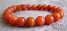 Buddha-Armband aus Orangem Aventurin-Quarz 17 cm  - Power-Beads.