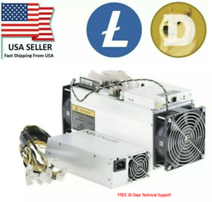 Litecoin/Dogecoin Bitmain Antminer L3+ Miner Tuned to 620-650 MHs  A+ USA SELLER