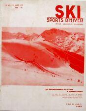 Ski Sports d'Hiver n°62 - 1939 - Championnats  à Superbagnères - Roselend