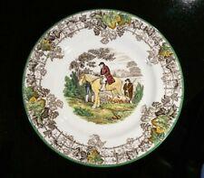 Beautiful Copeland Spode Byron Green Trim Luncheon Plate