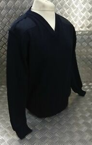 Genuine British M.o.D and Police Spec Navy V Neck Uniform Pullover XX Large JP2