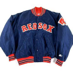 NWOT VTG Boston Red Sox Diamond Collection Large Starter Jacket Coat USA Made