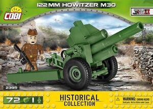 COBI 122 mm Howitzer wz.1938 M 30 / 2395 / 72  blocks WWII Soviet howitzer