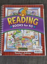 Kindergarten Reading Books For K5 Bob Jones Teacher's Edition  BJU