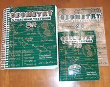 Teaching Textbooks Geometry 2.0 Complete Set