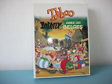 Jeu taboo ASTERIX chez les Belges jeu de société Complet éditions Atlas