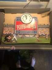 Vintage Burwood Products New Haven Budweiser Clock New Old Stock Still In Box!