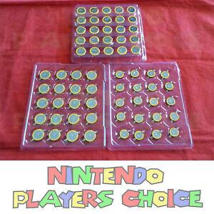 10-200 Lot CR2032 CR2025 CR1616 Batteries + Tabs for Nintendo NES SNES Pokemon