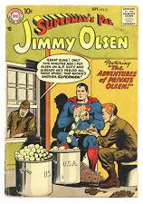 SUPERMAN'S PAL JIMMY OLSEN #23 2.0 CURT SWAN ART TAPE OW PGS 1957
