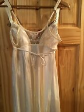 Long Ivory Gown  Flora Med