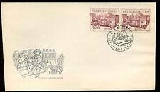 Tchécoslovaquie 1967 tchèque villes Presov fdc first day cover #C34739