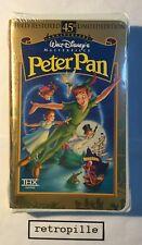 Peter Pan,Walt Disney,Masterpiece,Vhs,englisch,Selten,Neu,Rare,OVP,New,Selten