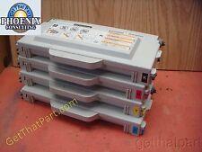 Lexmark Color C510 510 Complete OEM CMYK Toner Set 20K0500 - 20K0503