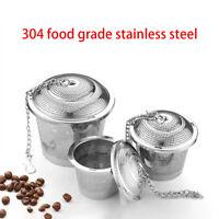 Tea Strainer Stainless Steel Mesh Infuser Sphere Tea Ball Kettle Infuser #HF0