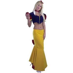 Snow White Long 2 pc. Princess Dress Up Sexy Womens Halloween Adult Costume