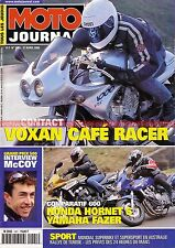MOTO JOURNAL 1421 VOXAN Café Racer YAMAHA FZS 600 Fazer HONDA CB Hornet CX 500
