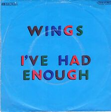 "7"" Paul McCartney (Beatles) – I've Had Enough // Germany 1978"