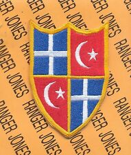 US Army HQ Allied Forces South East Europe HQAFSEE patch B