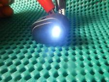 50Pcs WHITE Dot Light Led Rocker 12V Car OFF/ON Switch New 20DW NR