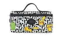 Limited Edition LONGCHAMP x POKEMON Pikachu Cosmetic Pencil Bag Case