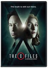 THE X-FILES 10 : THE EVENT SERIES (2016) TV Season MiniSeries  NEW R2 DVD not US