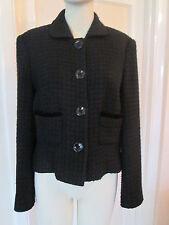 Next Black Jacket, Wool rich, Size 14