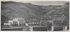 D8743 Stazione Funivia Sanremo-Monte Brignone - Circolo del Golf - 1936 stampa