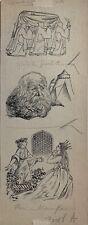 Karel Thole - illustrazione originale - Firmata