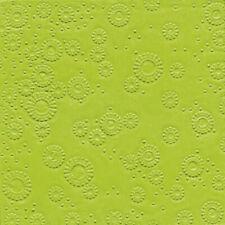 Paper+Design Servietten Zelltuch kiwi geprägt 33x33 3lagig 16 Stück Tischdeko