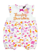 Harley-Davidson® Baby Toddler Girls Paint Splatter 1pc Romper Outfit 3002815