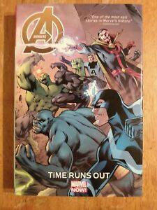 Avengers: Time Runs Out Oversized Hardcover OHC