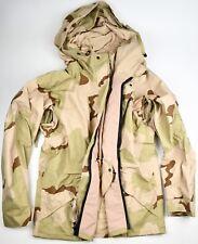 New US Milita Cold Wet Weather Gen 2 ECWCS DESERT Goretex Parka Jacket - Small