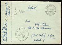 s1898) Feldpost Feuerleitungsstab Peenemünde 1943 Abs Leichte Flak-Abt z.b.V.(d)