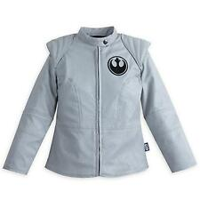 Rey Faux Leather Jacket for Girls Star Wars: The Force Awakens Disney Size 9/10
