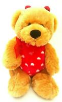 Teddy Bear The Red Ladybug With Red Ribbon Soft Plush Toy Doll