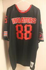 Southside Violators Arena Football Jersey #88 Limited Edition 50 yard line 4XL