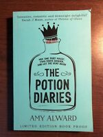 THE POTION DIARIES by AMY ALWARD - SIMON AND SCHUSTER - UK POST £3.25*PROOF*