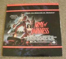 Army Of Darkness Laserdisc Laser Disc