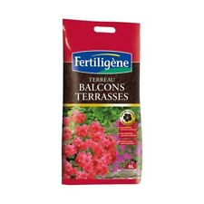 TERREAU SUBSTRAT PLANTE BALCON TERRASSE BALCONNIERE 6 LITRES FERTILIGENE