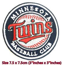 Minnesota Twins Baseball Sport Embroidery Patch logo iron,sewing on fabric